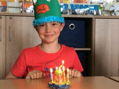 Emile is 8!