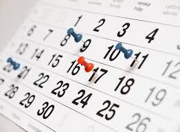 Schoolvrije dagen 2018-2019