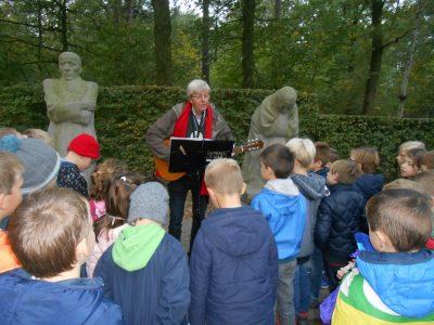 Bezoek Duits militair kerkhof