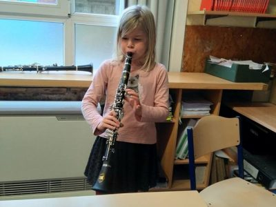 Klarinetmuziek in de klas