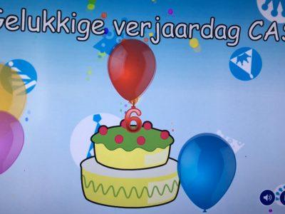 Verjaardag Cas