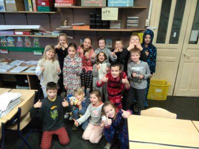 Ook wij deden mee aan de Pyjamadag van Bednet !