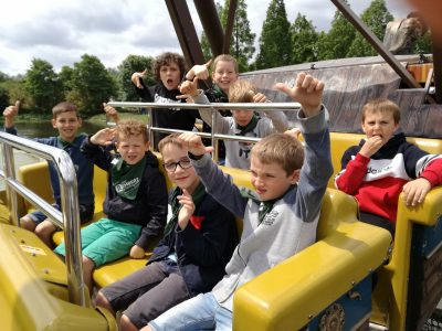 Op schoolreis naar Plopsaland!