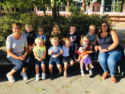 De eerste schooldag!