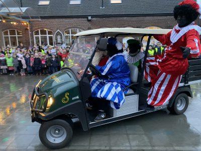 Sinterklaas en Zwarte Piet op bezoek!