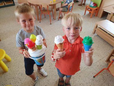 Mmm, lekkere ijsjes!