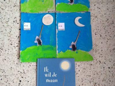 De maan, sterren… donker en licht…