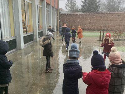 Wauw… Het sneeuwt!