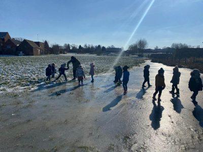 Sneeuw en ijsplezier