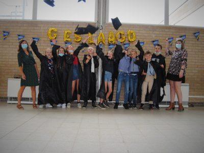 afscheid zesde leerjaar in Edewalle