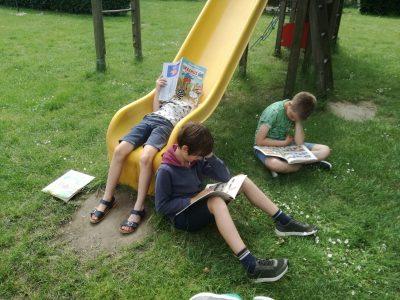 Lezen doen we overal!