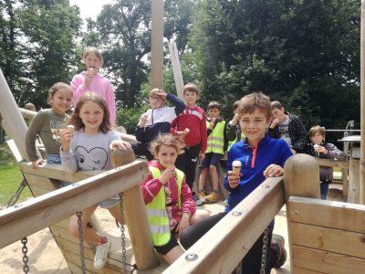 Op schoolreis naar de kinderboerderij!