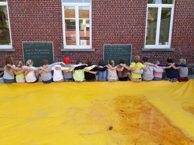 Samen, buiten, leren # onze klas