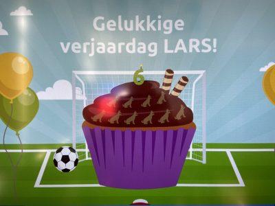 Verjaardag Lars
