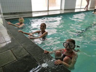 eerste zwemles