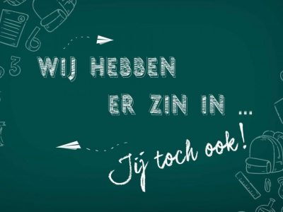 Start nieuwe schooljaar!